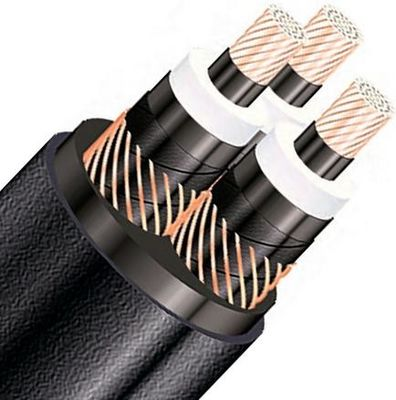 LSZH Flame Retardant And Fire Resistant Cables Three Core For Underground