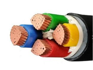 Copper Core Low Smoke Zero Halogen Wire Four Core XLPE Insulated Ls0h Cable