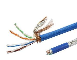China CW1128 External Telephone Network Cable 6 Pair Telephone Wire CEL PE Insulation factory