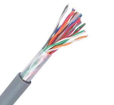 China Outdoor Drop Cat5e Telephone Cable Wire 500P With Bare Copper Conductor factory
