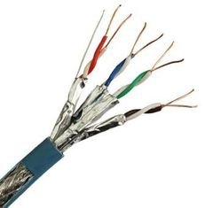 Category 6 4 Pair Copper Lan Cable PE / HDPE Insulation Cat6 Network Cable