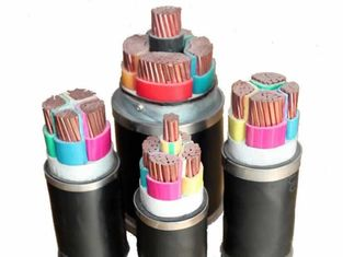 Unarmoured Medium Voltage Power Cables XLPE Insulated PVC Sheathed