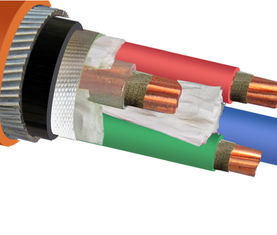 IEC 60502 IEC 60228 Copper Wire Cable / Armored Electrical Power Cable