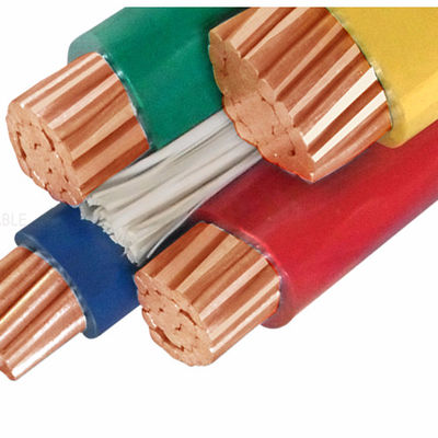 China 95mm PVC Insulation Copper Cable / Flexible 4 Core Electric Cable factory