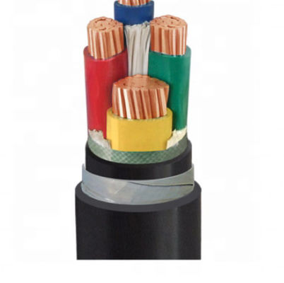XLPE Insulation Multi Strand Copper Cable , PVC Sheath Copper Flexible Wire 1-5 Core