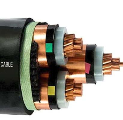 3 Core Unarmored Medium Voltage Power Cables XLPE Insulated For Laying Indoors